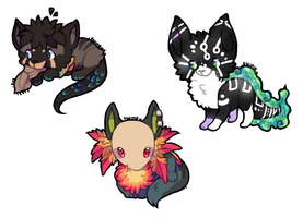 Chibis by twinelights