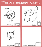 Tablet turning game by Luckynight48
