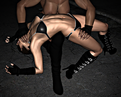 Vanessa VS Nova: Over Knee Backbreaker 1-4 by FatalHolds