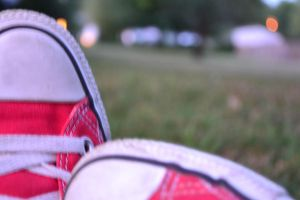 Red Converse by madcat2316