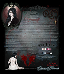 Penny Dreadful - Ophelia Broderick Attribute Sheet by RedPassion