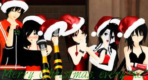 .: Merry Christmas! :. by Ask-TheKaras