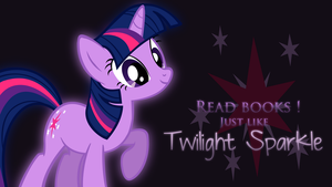 Wallpaper : Read books ! V2 by Nattsu-San
