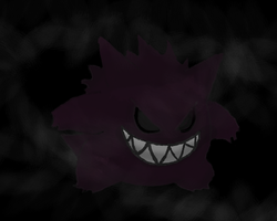Gengar by TheMadLocust