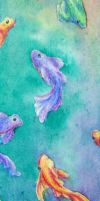 Bookmark: fish by madeliveva