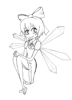 AT: Cirno by THAT-Technique