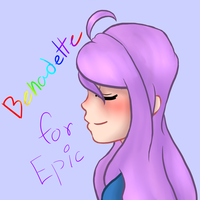 .:: First Tablet Drawing Yay :: Bernadette ::. by iUzuChan