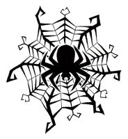 Spider Tattoo by BurntGraphics07