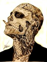 Rick Genest by MartaCmTattoos