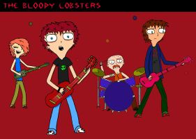 The Bloody Lobsters - No Gig by yeagerspace