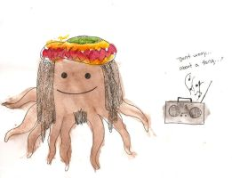 Dreadlocktopus by PlutoHasCows