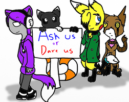 Ask Us or Dare Us by SparkyChan23