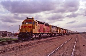 ATSF Gallup, NM 1, 5-12-89 by eyepilot13