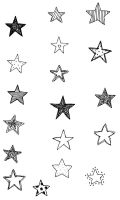 Image pack stars brushes by stardixa-resources