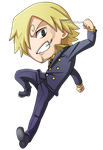 One Piece: Sanji Chibi by Kanokawa