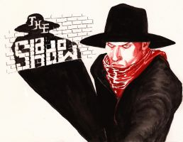 Eisner homage - The Shadow by Nick-Perks