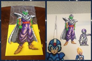 Piccolo Perler Bead Sprite by jnjfranklin