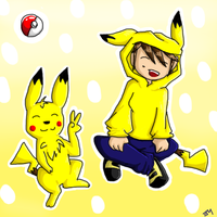 Pikachus are awesome. by Hokyokkugitsune
