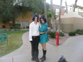 Anime Vegas 2011 Mokuro and Chrome by KathytheGoth