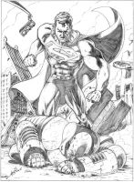 Latest Superman by jamesq