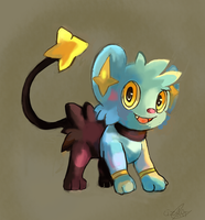 Shinx by LizardonEievui13