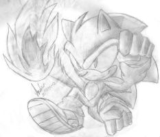 Sonic Doodle 3 by andreahedgehog