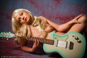 La Blue Guitar Girl by Lordcorleon