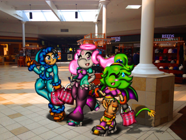 Wandering Around the Mall by spdy4