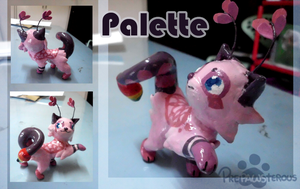 :Pallete Figurine: by PrePAWSterous