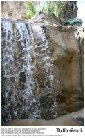 Rainforest Cafe Waterfall.8 by Della-Stock