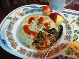 omelet rice 2 by plainordinary1