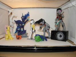 Pony sculptures collection 2 by RetardedDogProductns