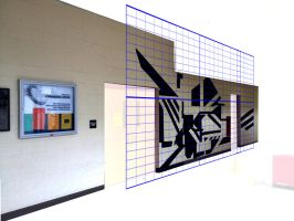 Mural: Wall Grid by NatJack
