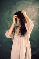 The girl with a hairpin by BirdSophieBlack