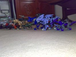 A Rainbow of Zoids by G0ggles