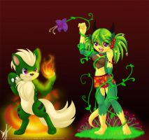 Fire and Earth by luna777
