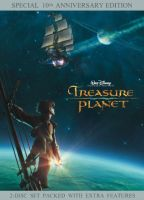 Treasure Planet S.E. DVD cover by paleshadow18