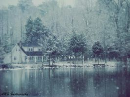 House on the Lake by Amberoso