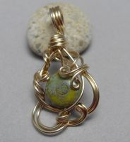 Custom Rainforest Jasper Pendant by sojourncuriosities