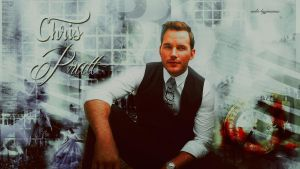 Chris Pratt wallpaper 02 by HappinessIsMusic