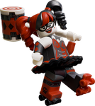 THE LEGO BATMAN MOVIE harley-quinn by PREDATOR-ASSASSIN