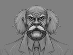 Dr. Wily, Robot Engineer by deimocrates