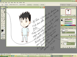 Chibi Alex Sem Fundo Tutorial by aninhachanhp