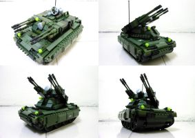 Lego Compact Tank 8.1 by SOS101