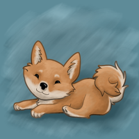 Day Thirteen - World's Most Adorable Dog by CrispyLettuce