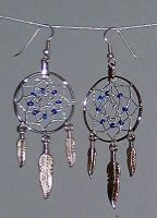 Dreamcatcher Earrings by Magnum-Arts