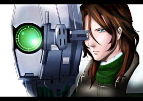 Gundam 00: Stratos Lockon by Mikagami-Naoko