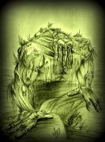 Man Thing by violencejack666
