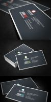 Stylish Business Card by glenngoh