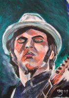 Gaz Coombes by Mazzi294